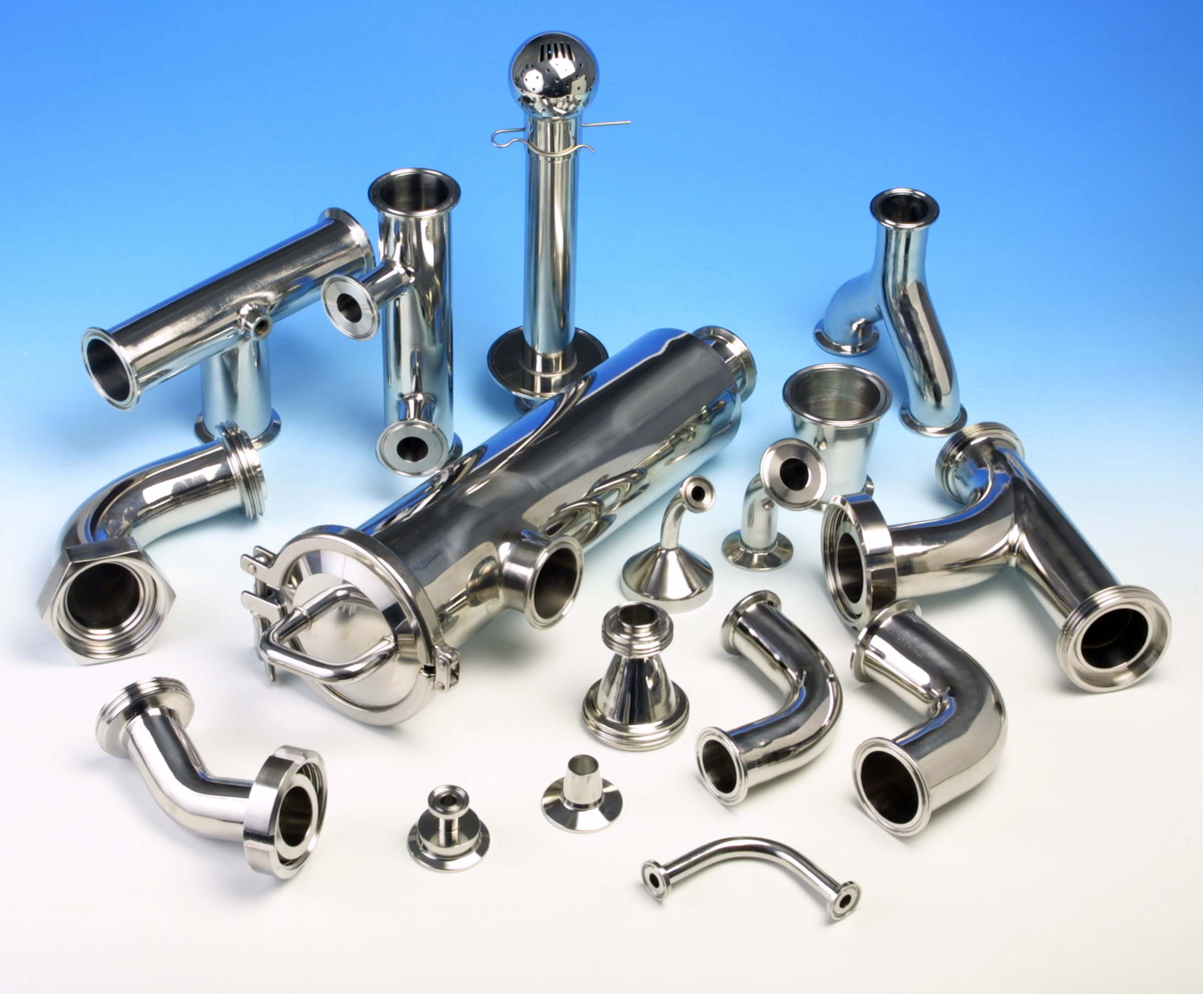 Where can you find stainless steel pipe fittings?